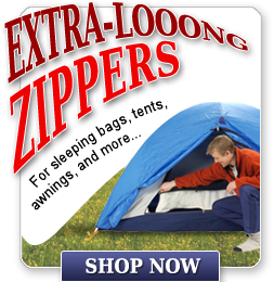 Extra Long Zippers
