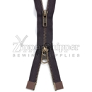 #5 Antique Brass Two-Way Separating (Jacket) Zipper