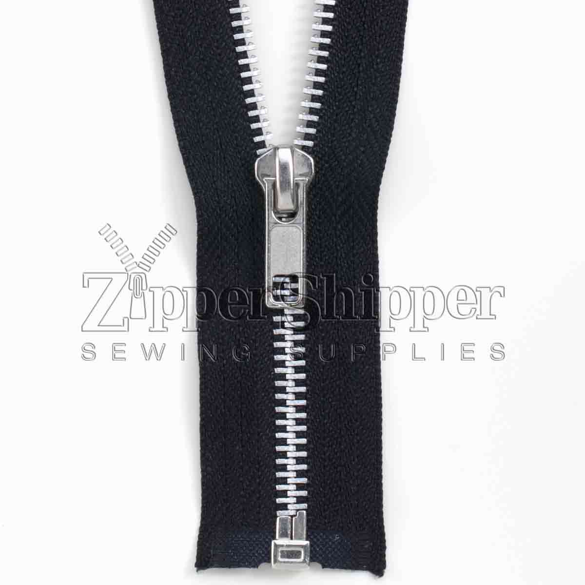 #5 Aluminum Separating (Jacket) Zipper