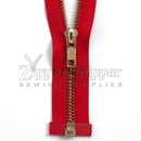 #5 Brass Separating (Jacket) Zipper