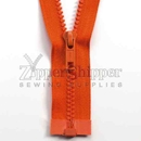 #5 Molded Plastic Separating (Jacket) Zipper