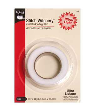 Stitch Witchery Ultra Light