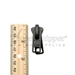 #10 2-Handle Autolock Slider For Molded Plastic Zipper (For Inside / Outside Access) - Black - PSLMP10-102