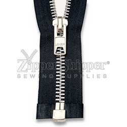 #10 Aluminum Heavy Duty Separating (Jacket) Zipper
