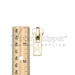 #10 Autolock Slider for Metal Zipper - Brass Gold