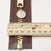 #10 Brass Heavy Duty Separating (Jacket) Zipper - ZIPBR10-100