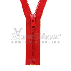 #10 Molded Plastic Heavy Duty Separating (Jacket) Zipper