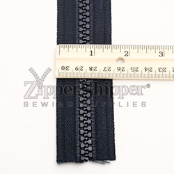 #10 Molded Plastic Continuous Zipper Chain By The Yard