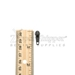 #3 Pull Tab For Nylon Coil Zipper Dark Brown