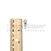 #3 Pull Tab For Nylon Coil Zipper - Light Grey
