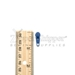#3 Pull Tab For Nylon Coil Zipper Medium Blue