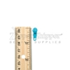 #3 Pull Tab For Nylon Coil Zipper Turquoise
