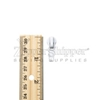 #5 Autolock Slider For Nylon Coil Zipper - White