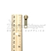 #5 Autolock Top Slider For Antique Brass Zipper - PSLAB05-100