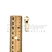 #5 brass gold zipper slider auotolock