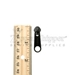 #5 Non-lock Pull Tab for Nylon Coil Zipper - Black