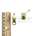 #5 Reversible Swing Around Handle Slider For Metal Zipper - Brass - PSLMT05-161