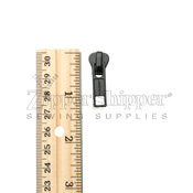 #5 Top Slider for Molded Plastic Zipper Black