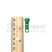 #5 Pull Tab For Molded Plastic Zipper Kelly Green