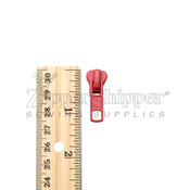 #5 Pull Tab For Molded Plastic Zipper Red