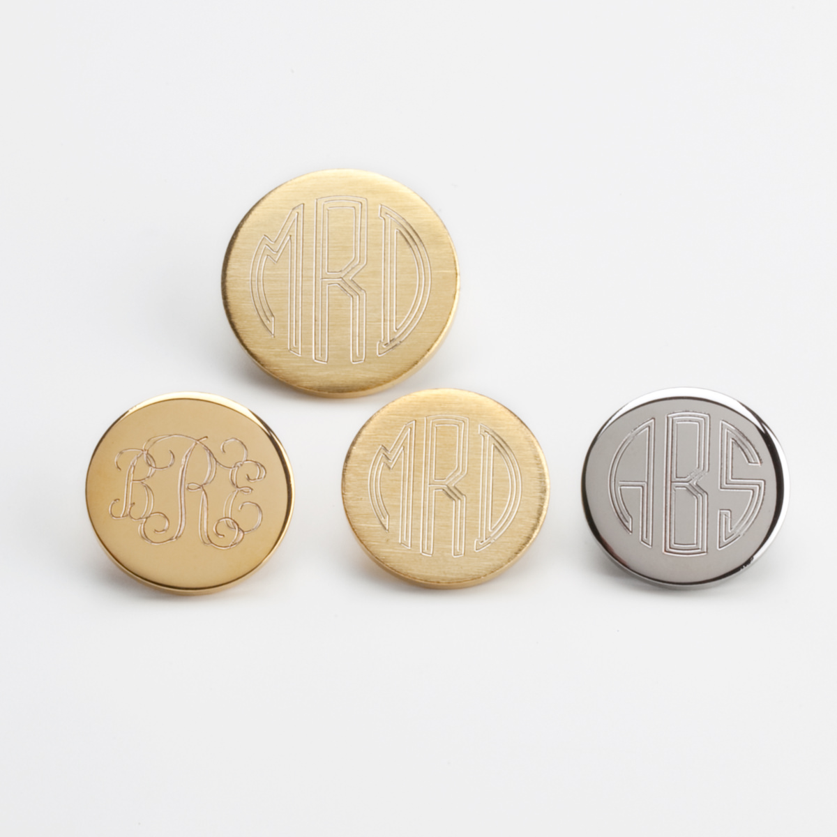 Monogrammed Blazer Buttons are the Most Special Gifts You Can Give