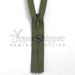#2 Invisible / Concealed Nylon Closed-End Zipper