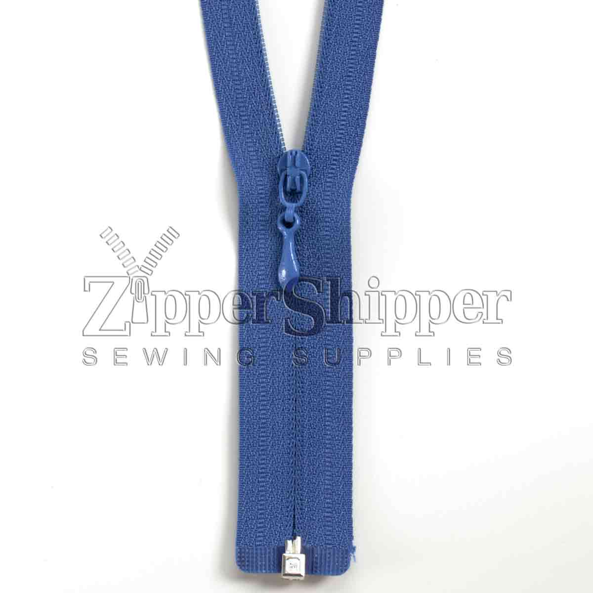 #3 Invisible / Concealed Identical Nylon Separating Bottom Zipper