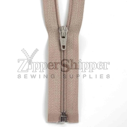 #3 Nylon Coil Separating Bottom Zipper