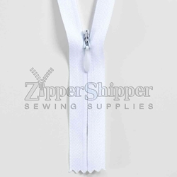 #4 invisible heavier duty zipper