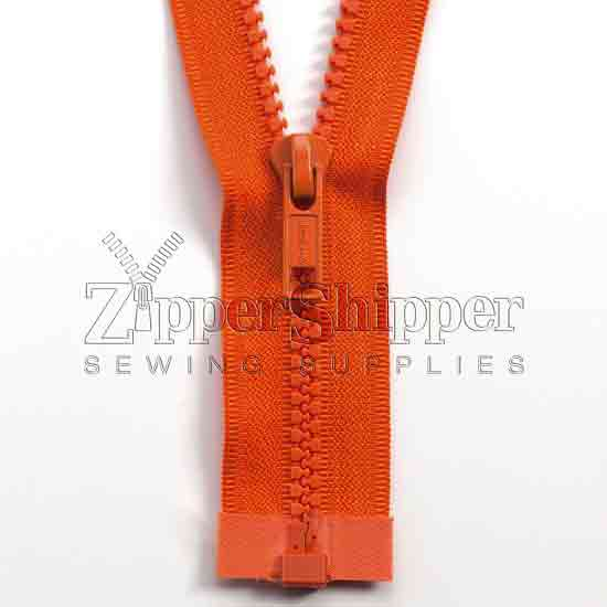 #5 Molded Plastic Separating Bottom (Jacket) Zipper