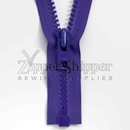 #10 Molded Plastic Heavy Duty Separating Bottom (Jacket) Zipper