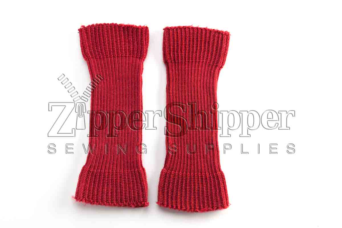 knit cuffs - one pair
