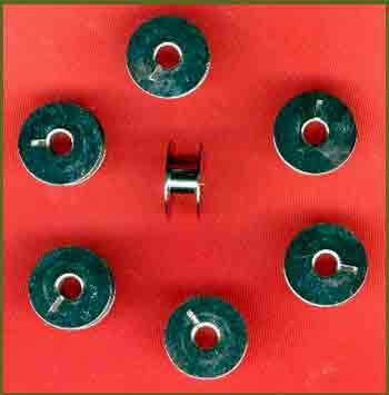 Bobbins for Commercial Sewing Machines