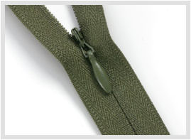 Invisible zippers for sewing and crafts